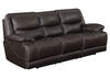 Rover Leather Power Sofa w/Power Headrests
