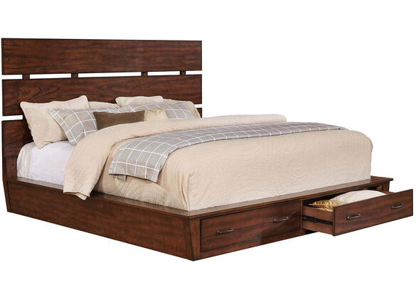 Artesia King Storage Bed by Scott Living - The RoomPlace