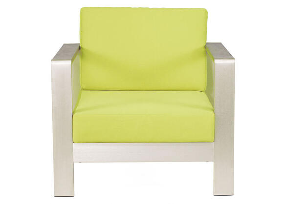 Cosmopolitan Green Arm Chair