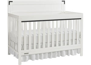 Paxton Snow White Convertible Crib by Fisher Price