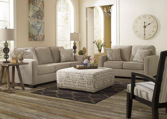 Arthur Quartz 3 Pc. Living Room w/Accent Chair