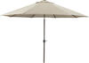 Gray Large Auto Tilt Umbrella