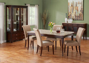 MARTINI 5 PC W/ PARSONS CHAIRS