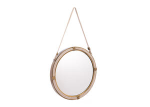 Knot Mirror Brown