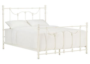 Nolan White Queen Bed White