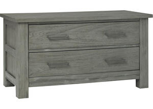 Lucca Weathered Gray 2 Drawer Chest by Dolce Babi