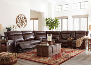 Brice 3 Pc. Power Sectional w/Power Headrests