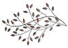 Blowing Leaves Wall Decor Bronze