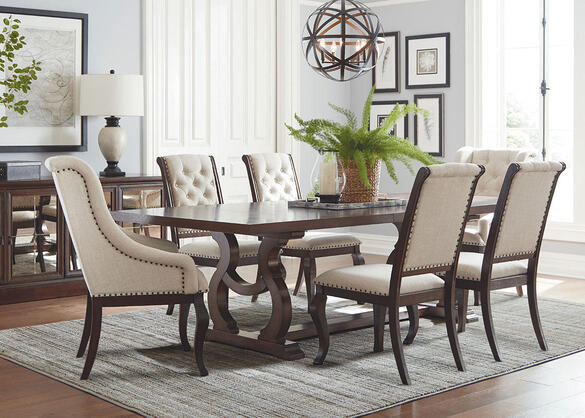 Glen Cove Java 7 Pc. Dining Room by Scott Living