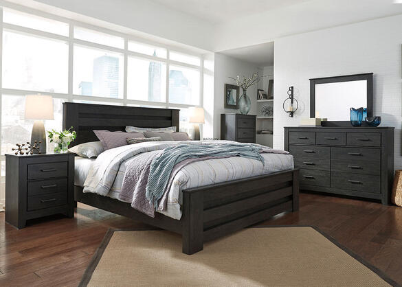 Bryce 7 Pc. King Bedroom