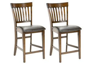 Arbor Hill 2 Pc Counter Height Chair Set