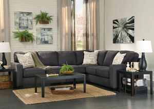 Arthur Charcoal 3 Pc. Sectional