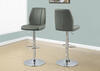 Hillburn Gray 2 Pc. High Back Barstool