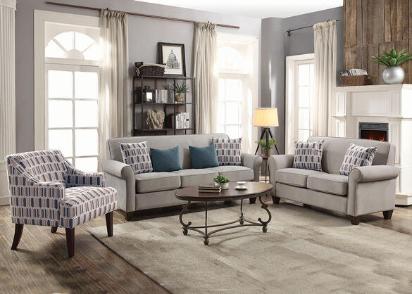 Gideon Gray 3 Pc. Living Room