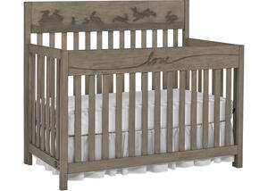 Forest Animals Convertible Crib by ED Ellen Degeneres