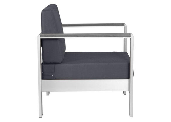 Cosmopolitan Gray Arm Chair