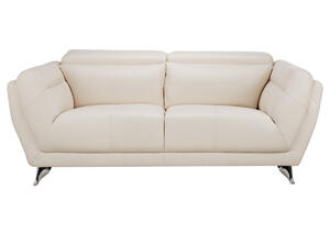 Mars White Loveseat