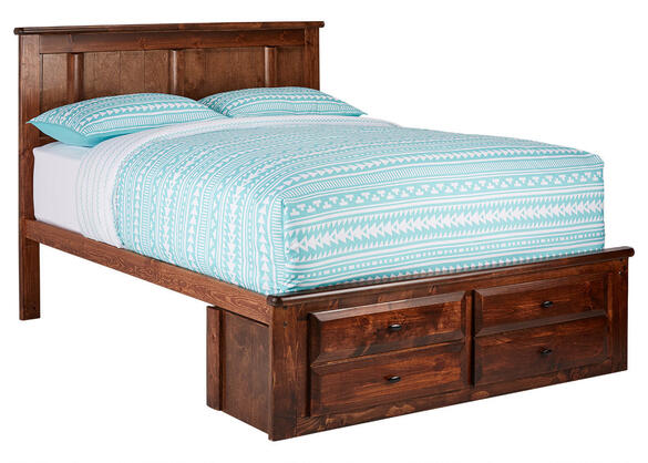 CATALINA FULL PLATFROM BED CH CHESTNUT
