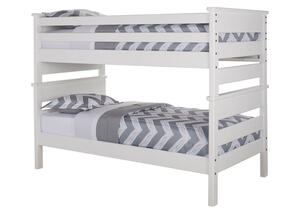CATALINA TWIN/TWIN BUNK BED WHITE WHITE