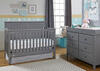 Colton Stormy Gray Convertible Crib by Fisher Price
