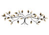 Blowing Leaves Wall Decor Silver