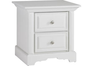 Venezia Snow White Nightstand by Dolce Babi