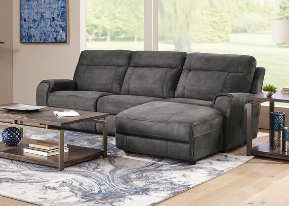 Mercury 3 Pc. Power Sectional