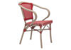 Paris Dining Arm Chair Red