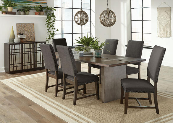 Twain Charcoal 7 Pc. Dining Room by Scott Living