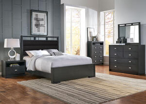 Metro 5 Pc. King Upholstered Bedroom