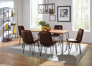 Sherman Brown 7 Pc. Dining Room