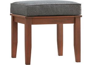 Newport Brown End Table w/Cushion