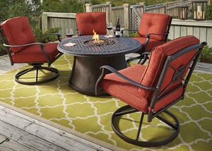 Cimon 5 Pc. Fire Pit Set