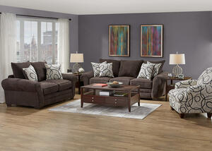 PEYTON 3 PC SLPR W/ACCENT CHAIR