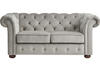 Barrington Gray Velvet Loveseat