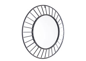 Sunburst Mirror Black
