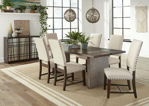 Twain Beige 7 Pc. Dining Room by Scott Living