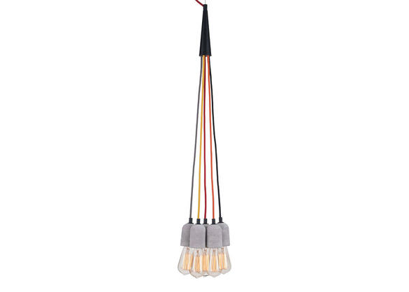 Splice Ceiling Lamp Gray
