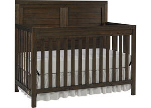 Castello Wire Brush Brown Convertible Crib by Ti Amo
