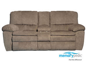 Power Loveseat Beige Luke