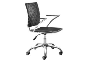 X-Cross Black Office Chair