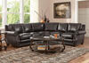 Genoa Charcoal 3 Pc. Sectional