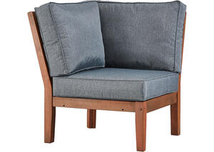 Newport Brown Corner Chair