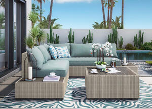 Silvercove 3 Pc. Sectional Gray