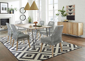 Sundance Gray 7 Pc. Dining Room by Scott Living