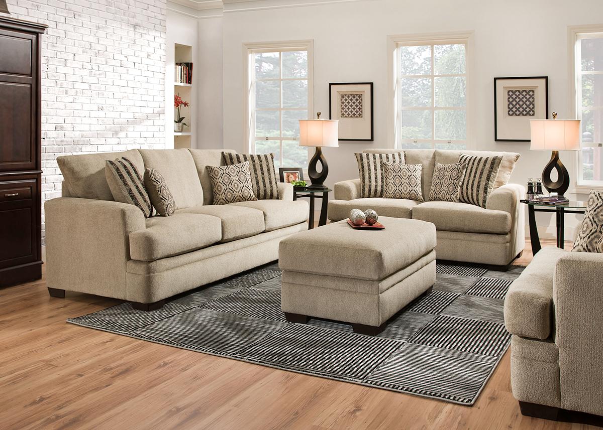 Pewter Platinum 2 Pc. Living Room