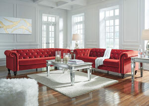 Timothy Red 2 Pc. Living Room