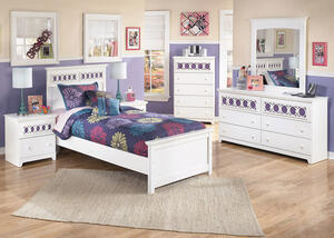DAZZLE 5 PC TWIN BEDROOM