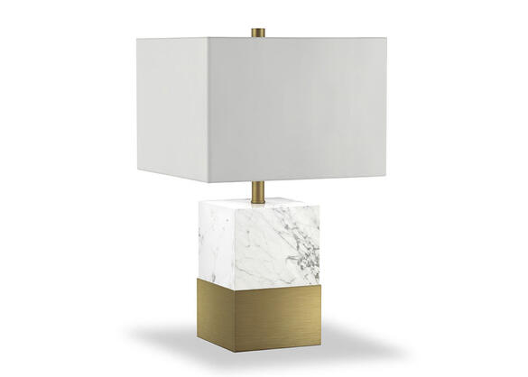 Karine Table Lamp White
