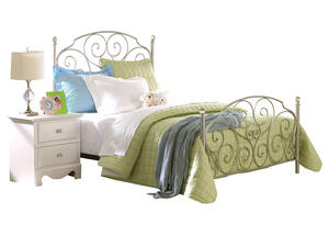 HAILEY FULL METAL BED